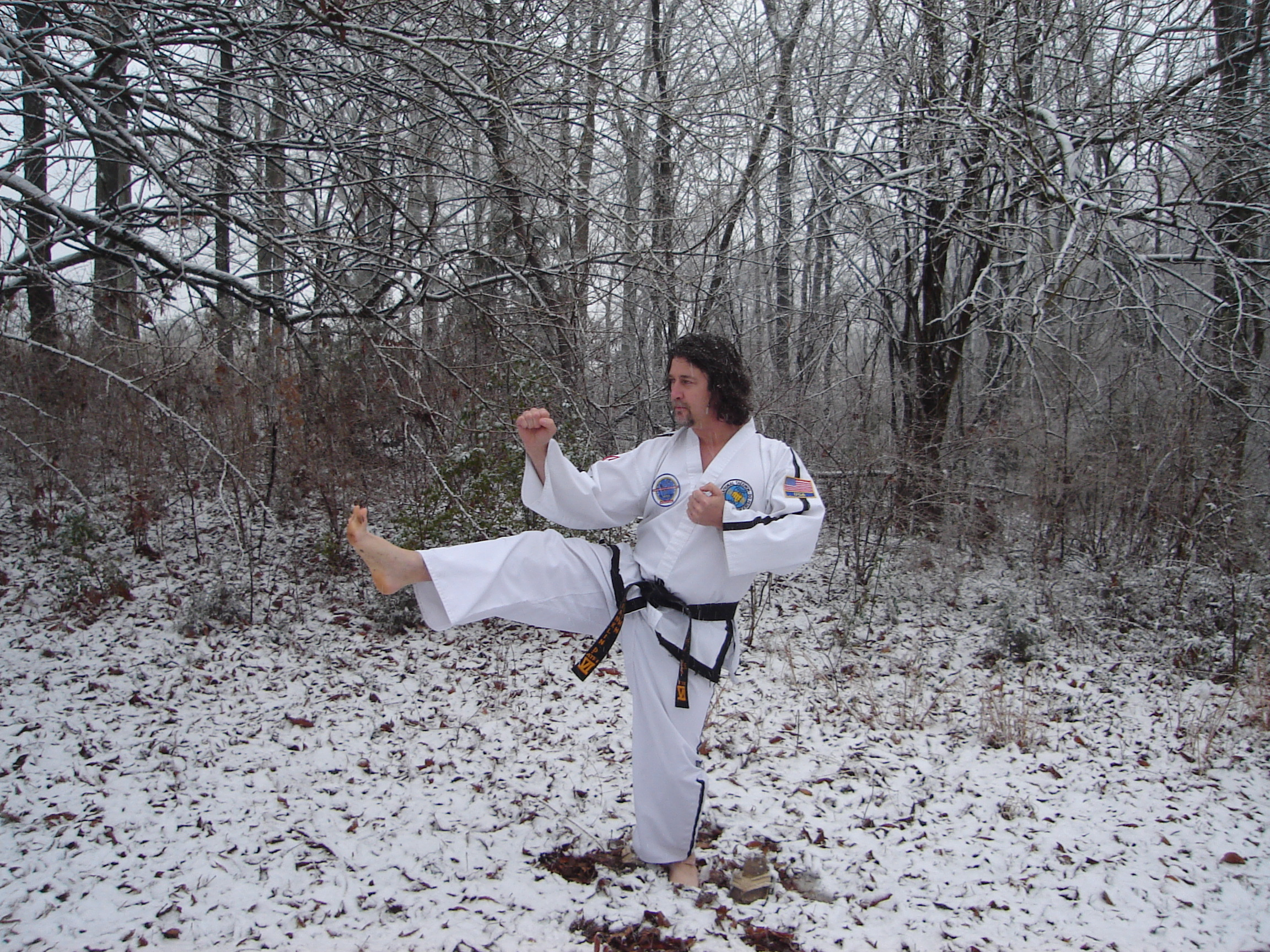 Snow and Taekwon-Do