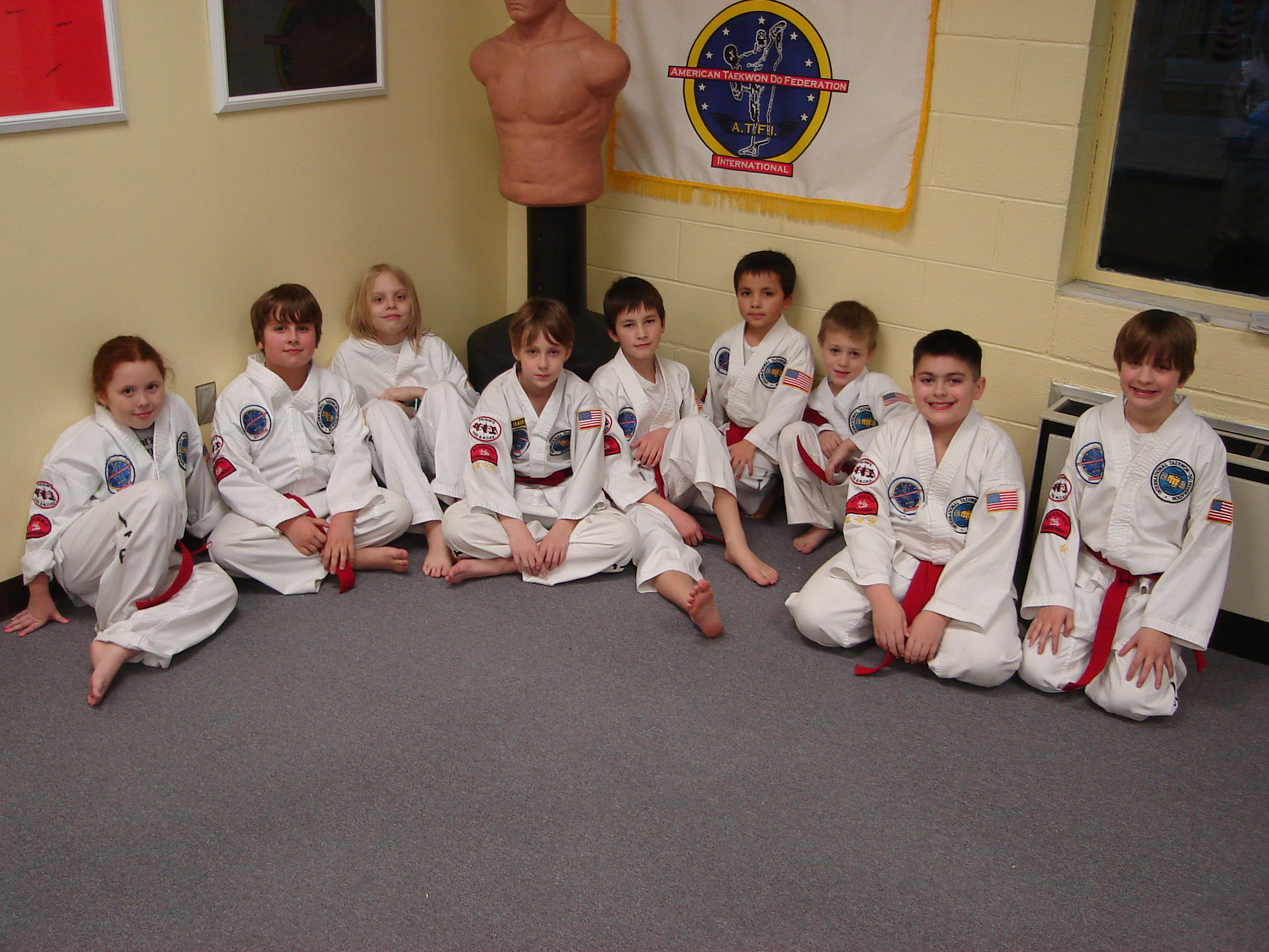 Red belts are camera shy,not